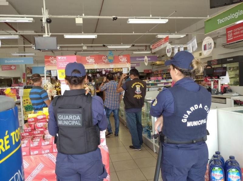 Três filiais das Lojas Americanas em Teresina são interditadas