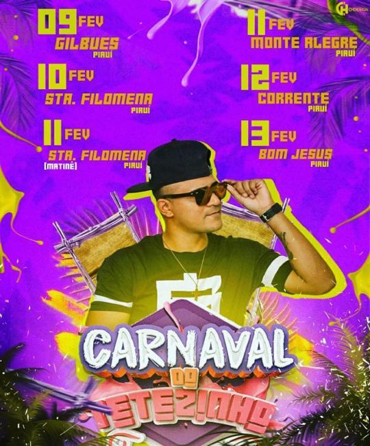 Confira a Agenda de Shows da Melhor Arrochadeira do Sul do Piauí