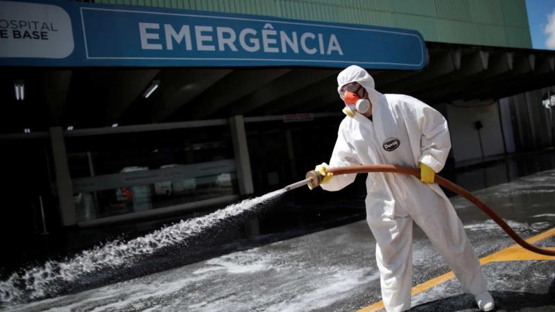 Brasil tem 42 novas mortes por coronavírus e chega a 201