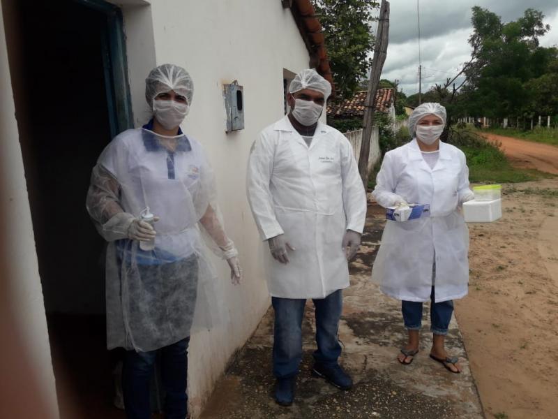 Inhuma realiza a primeira etapa da campanha de vacina contra a Gripe