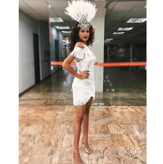 Monalysa Alcântara desfila hoje na escola de samba Vai-Vai