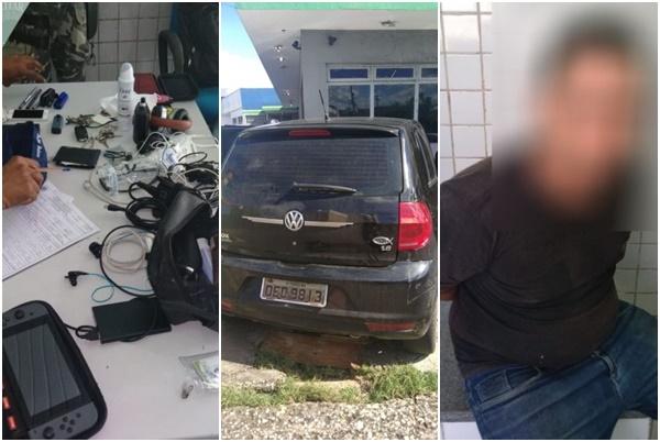 Homem é preso após furto em supermercado de Teresina