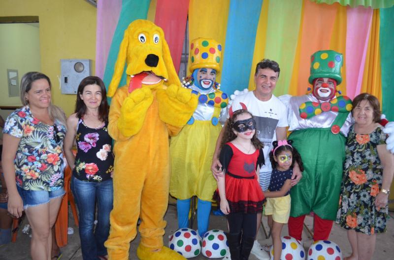 Baile infantil abre carnaval de Monsenhor Gil