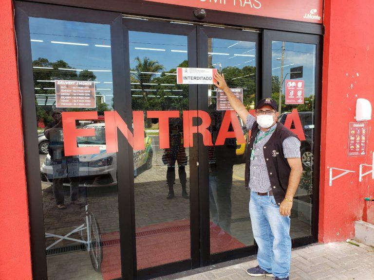 Lojas de Teresina são multadas por descumprirem decreto