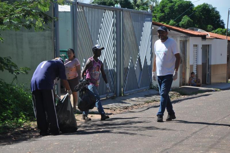 Prefeitura Realiza Mutirão de Limpeza em Bairros da Cidade