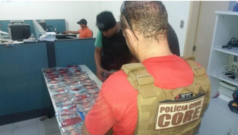 Polícia prende suspeitos de estupros e roubo a bancos em Teresina