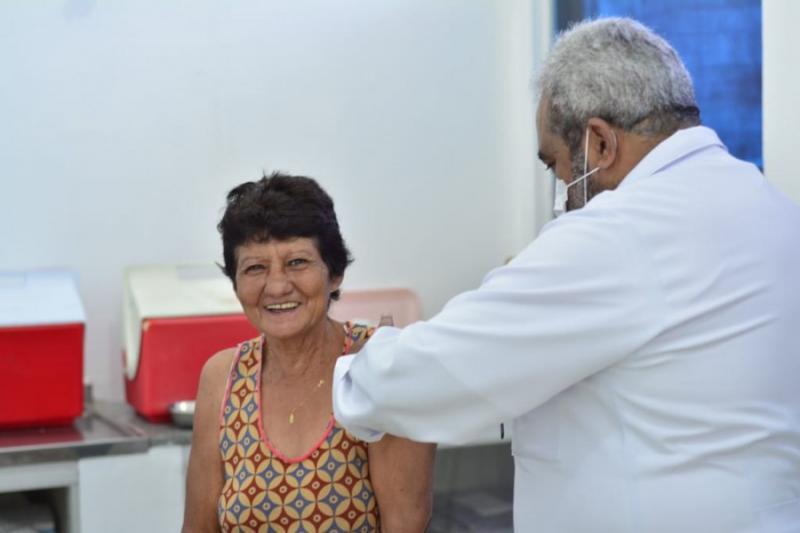 Saúde divulga balanço parcial da 1ª etapa de vacinação contra a Gripe