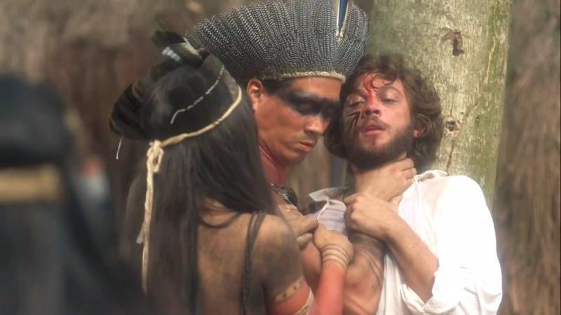 Novo Mundo: Joaquim é impedido de deixar aldeia