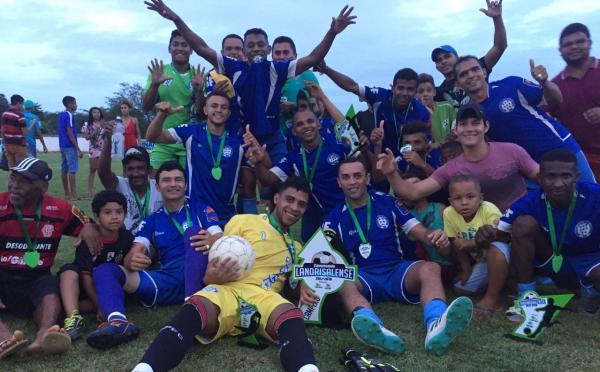 Sapucaia é o grande campeão do Campeonato Landrisalense de Futebol