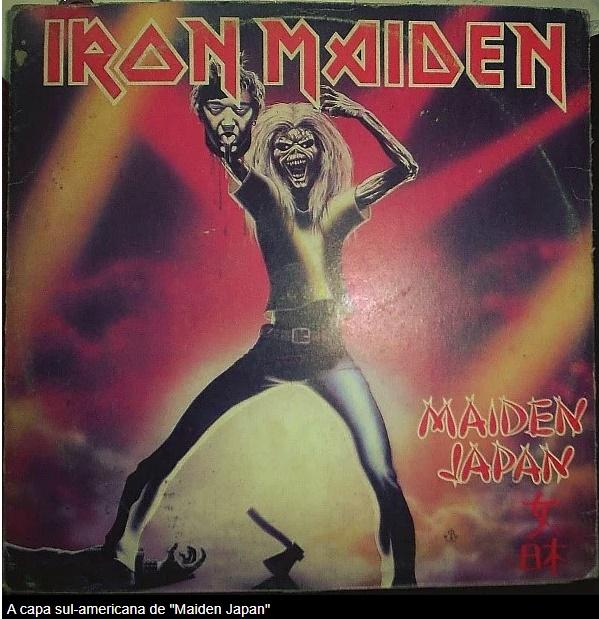 Iron Maiden: a história da outra capa de Maiden Japan