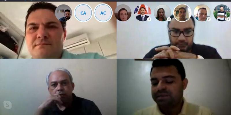 Representantes da OAB Piauí debatem pautas relevantes para a Advocacia