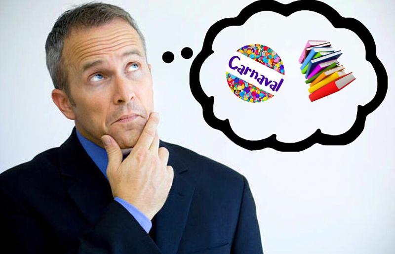 Carnaval: estudar, relaxar ou festejar?