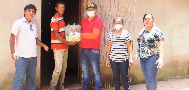 Prefeitura de São João do Arraial inicia distribuição de cestas básicas
