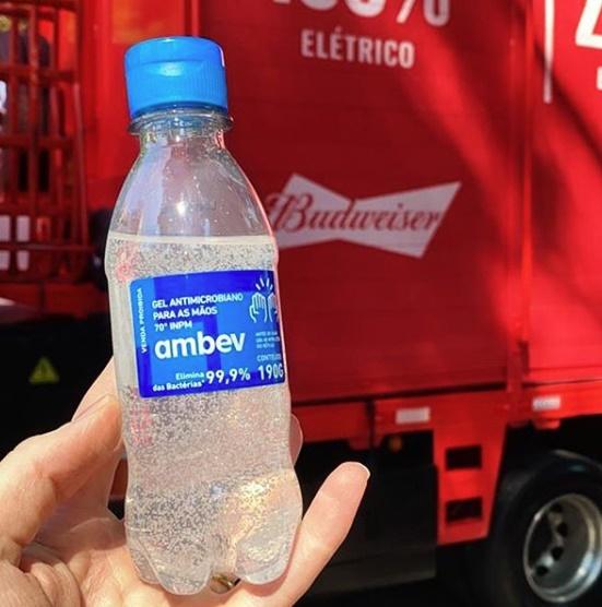 Piauí receberá 15 mil unidades de álcool em gel fabricadas pela Ambev