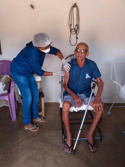 Cajazeiras | Saúde realiza Campanha de Vacinação contra gripe na zona rural