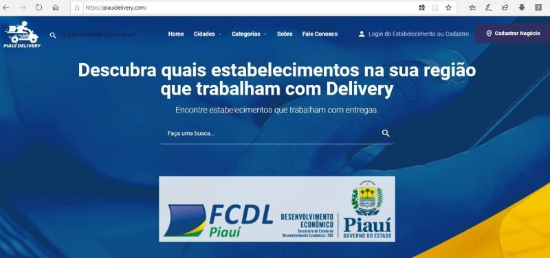 Governo e lojistas criam aplicativo para permitir delivery no comércio