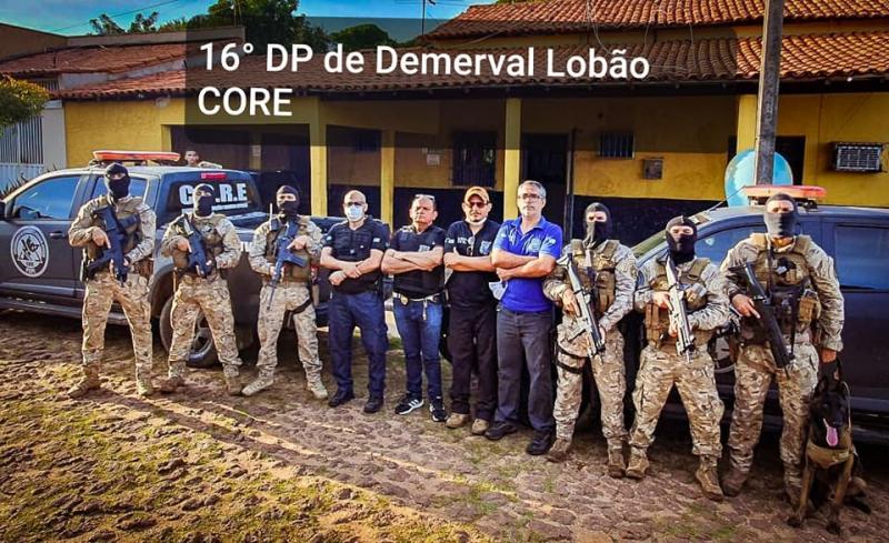 DP de Demerval Lobão deflagra operação contra crimes contra o patrimônio