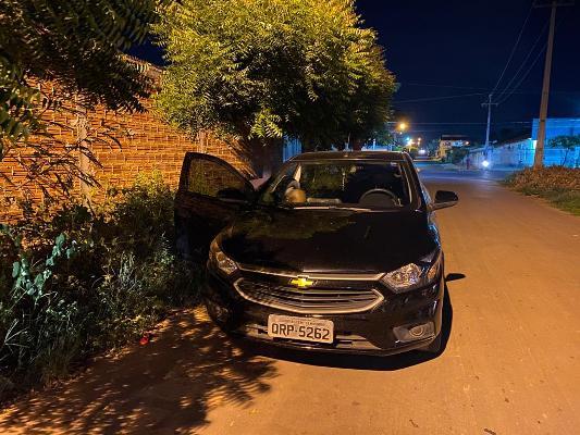 PM-MA/Timon recupera carro de aplicativo roubado em sequestro relâmpago