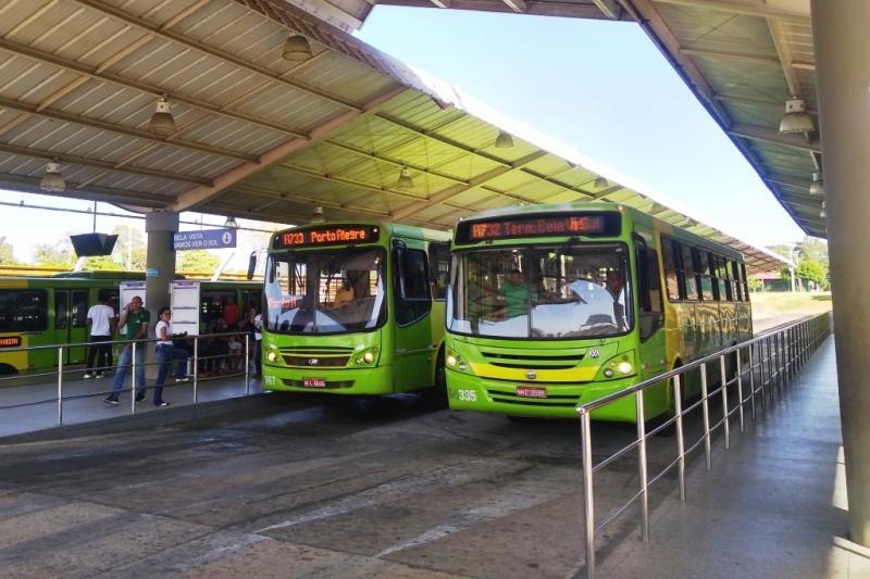 Ônibus não vão circular sexta e domingo em Teresina