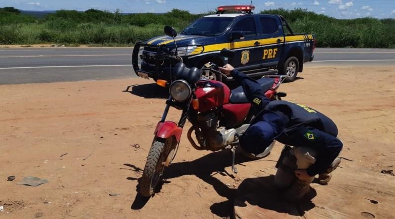 PRF recupera no Piauí motocicleta roubada há mais de 10 anos em São Paulo