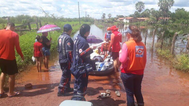 Governo decreta emergência em 07 municípios devido as chuvas