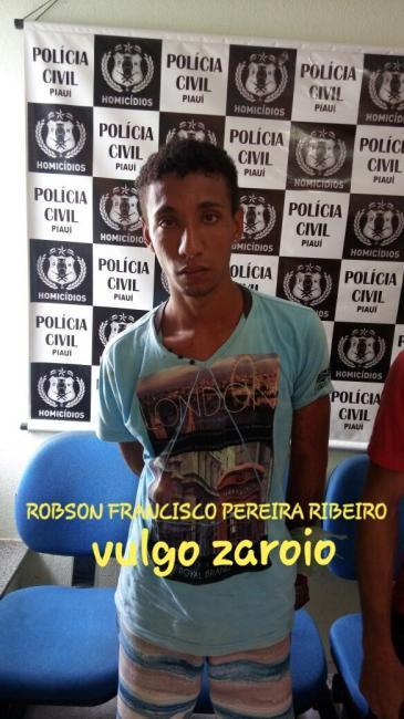 Acusado de latrocínio é preso na zona sul de Teresina