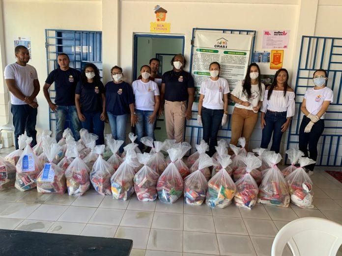 'Oeiras Solidária': Prefeitura distribui mais de 200 cestas básicas
