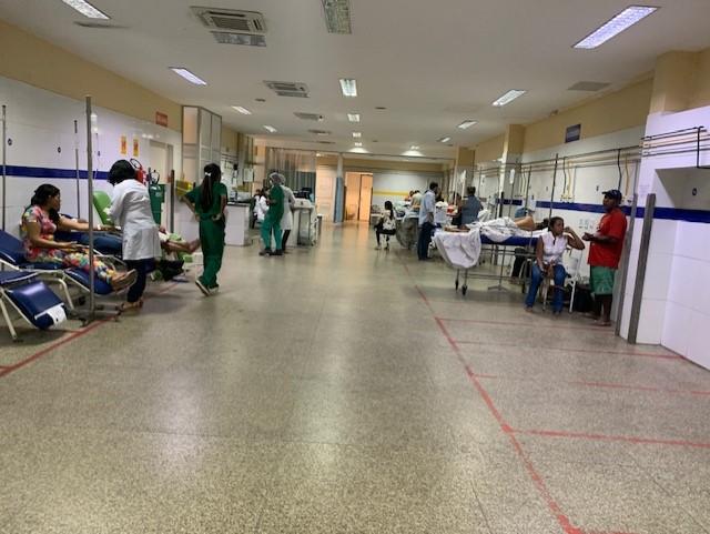 HUT registra queda em vítimas de acidentes durante a Semana Santa