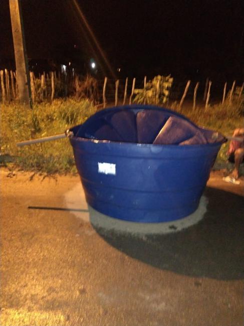 Dupla é presa após furtar caixa d'água de secretaria no Piauí