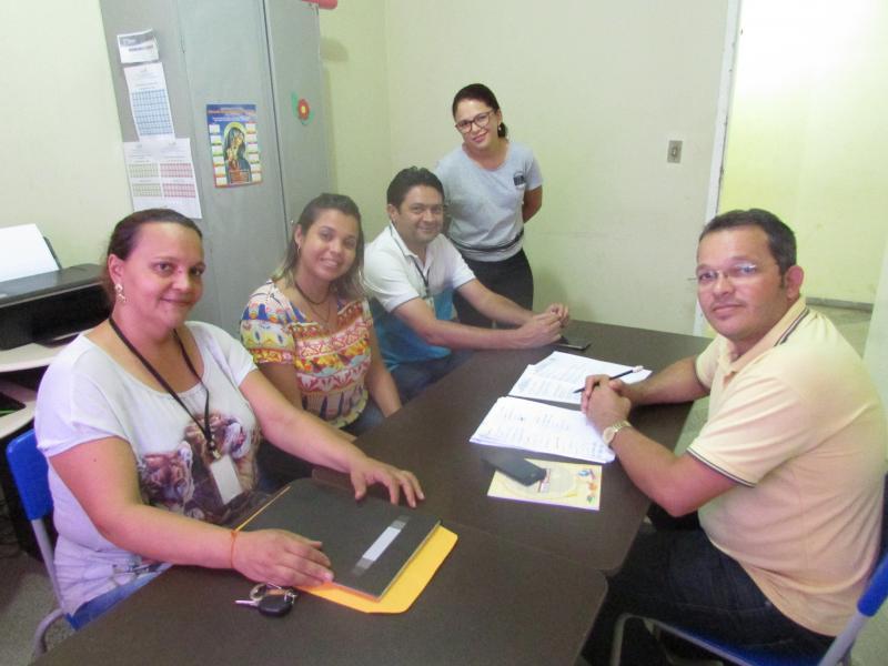 Secretário de Educação e Assistência Social se reuniram com membros do consenho intersetorial