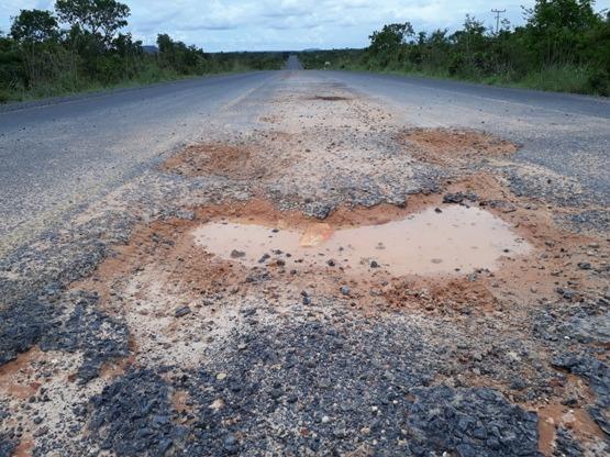 Rodovia que liga Gilbués à Santa Filomena necessita de reparos