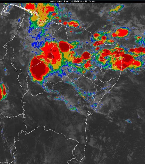 Fortes chuvas poderá  deixa Lagoinha do Piauí em situação de alerta