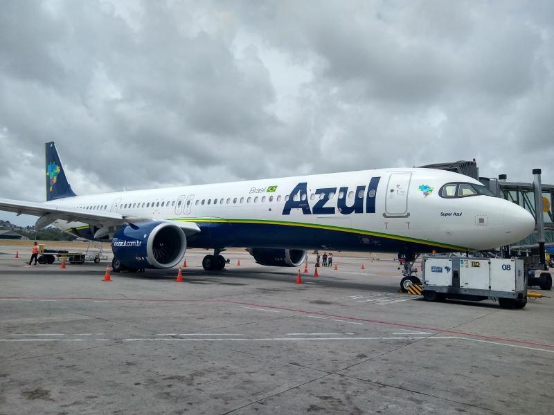 Azul retornará com voos para Teresina no próximo mês