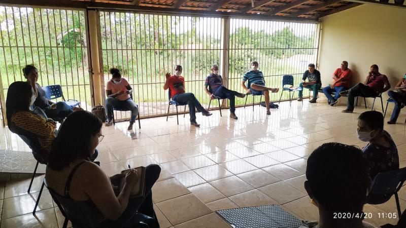 Prefeita Doquinha se reúne com o setor de comunicação do município