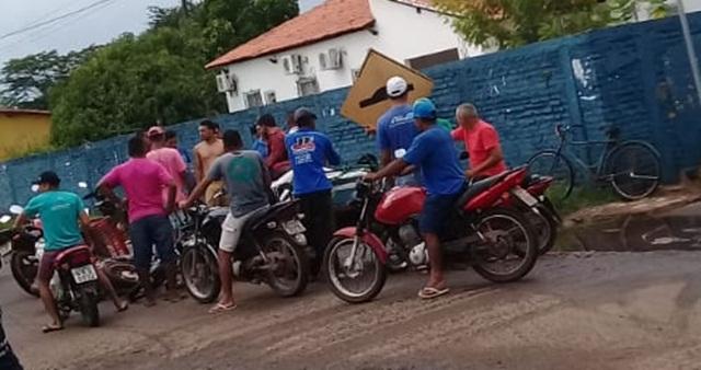 Acidente no Centro d José de Freitas