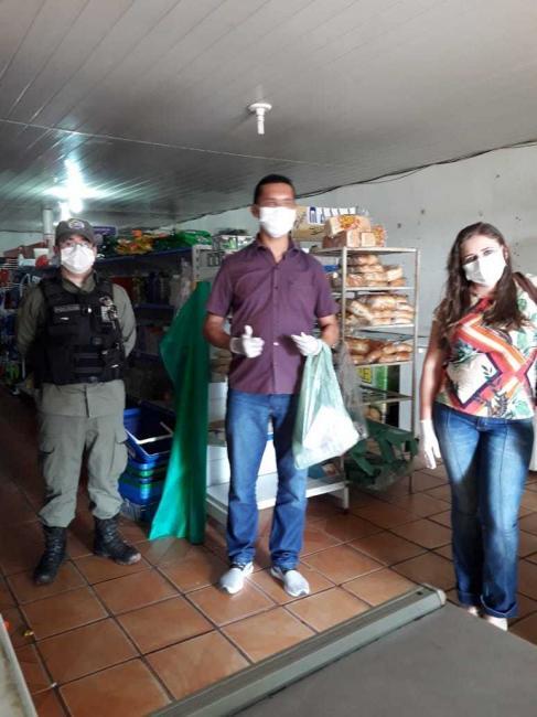 Cajazeiras | Saúde orienta população e comerciantes no combate ao Covid-19