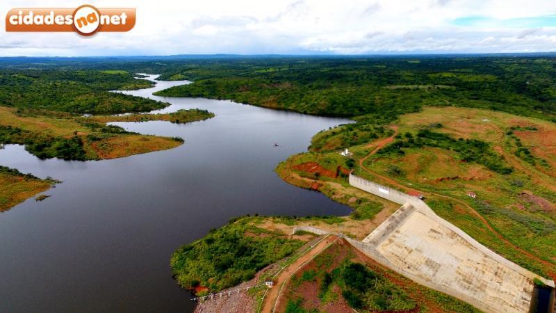 Barragem de Piaus está com 48% da capacidade e atinge maior nível