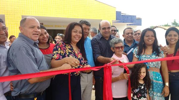 Prefeita Doquinha coloca a Creche Modelo Brasil de Colônia do Gurgueia para funcionar