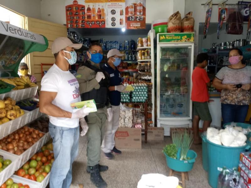 Prefeitura de Monsenhor Gil intensifica fiscalização de estabelecimentos