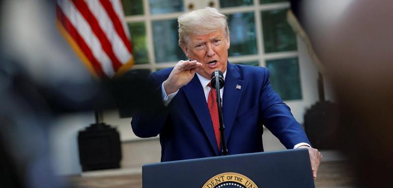 Trump sugere testar injeção de desinfetante no combate ao novo coronavírus