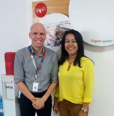 Prefeita Doquinha cobra melhoria do sinal da claro em Colônia do Gurguéia e implantação do sinal em Aliança do Gurguéia