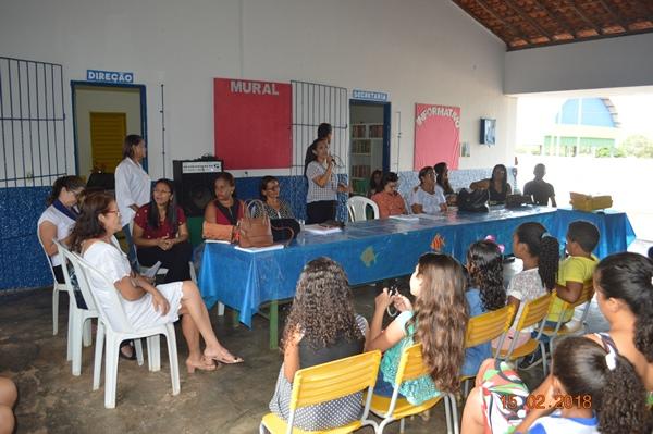Início das aulas em Colônia do Gurguéia-PI