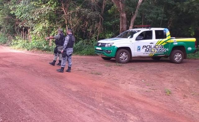 Estrada que da acesso ao povoado a Lagoa do apairipiri