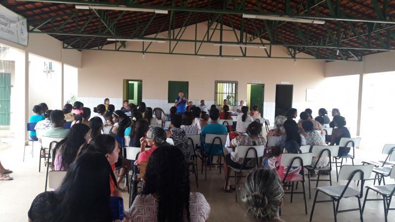 Escola Estadual de Olho D'água realiza primeira reunião de pais e mestres