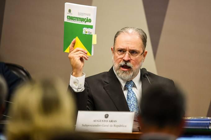 Augusto Aras: mudança de posição para evitar a invalidação das provas Evaristo
