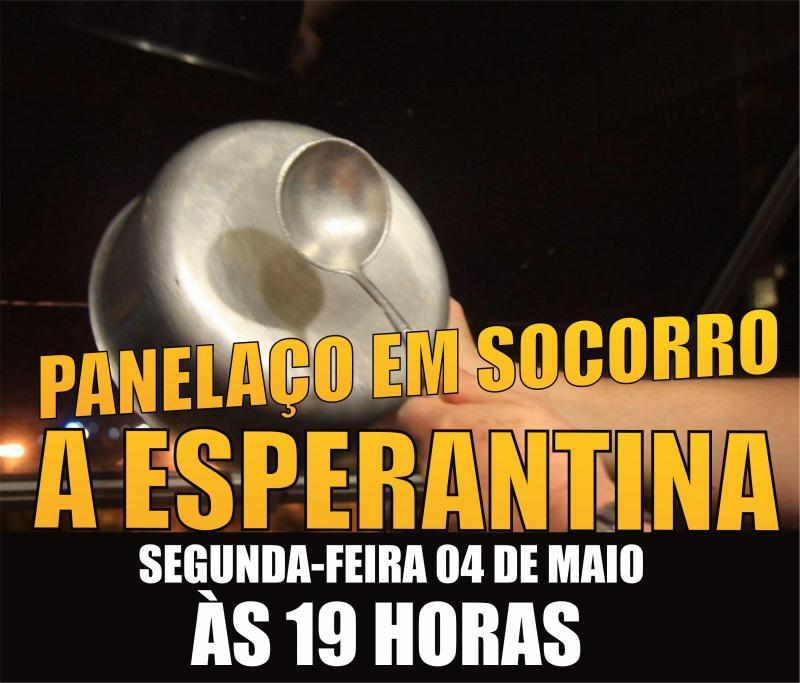 CORONAVIRUS: Esperantinenses organizam panelaço