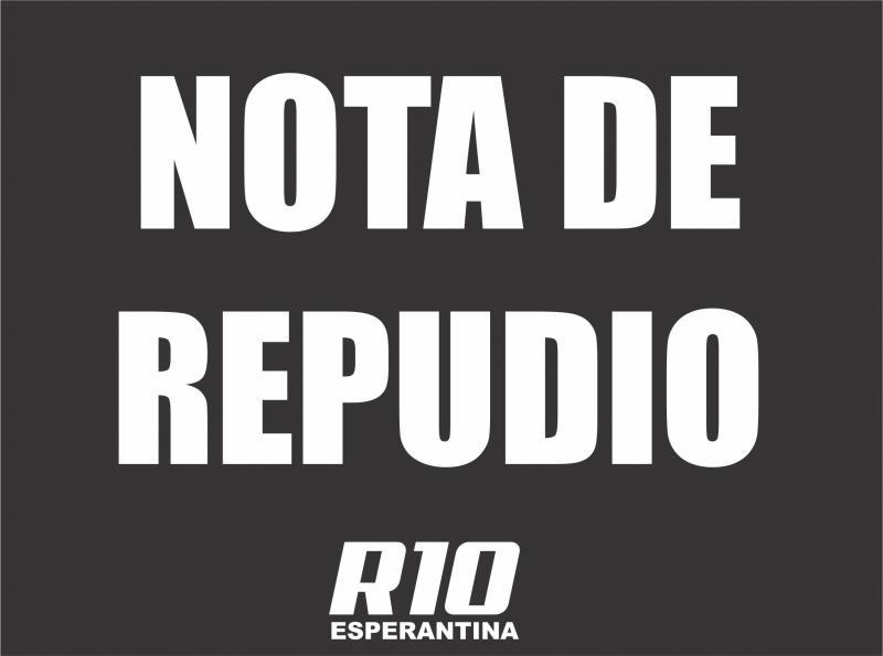 Representante do Conselho de Saúde ataca imprensa de Esperantina