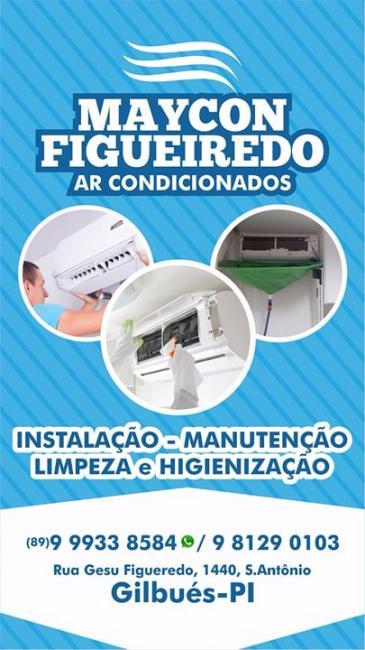 Maycon Figueiredo AR condicionados Gilbués-PI