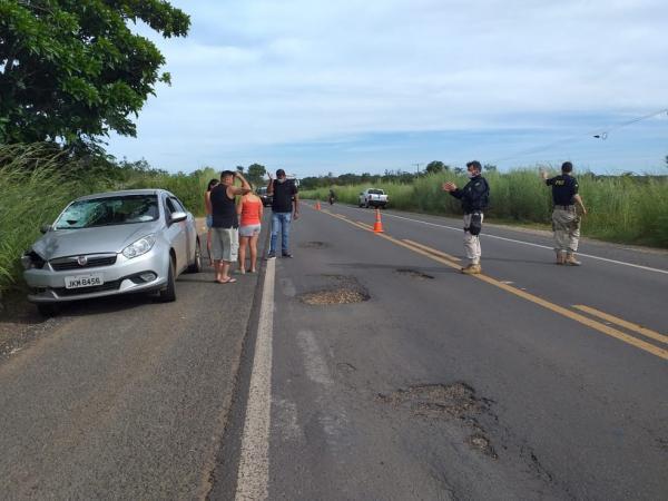 Idoso morre atropelado por carro na BR 230 em Floriano