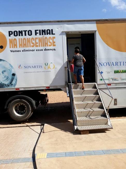 Mobilização contra Hanseníase no município de Demerval Lobão
